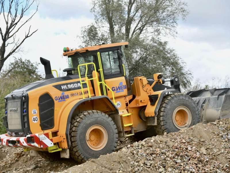 Hyundai HL690A wheel loader