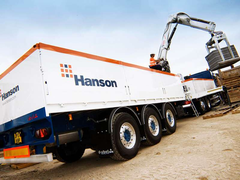Hanson Building Products vehicle