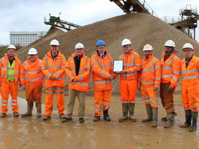 BAA award for Harleyford Aggregates
