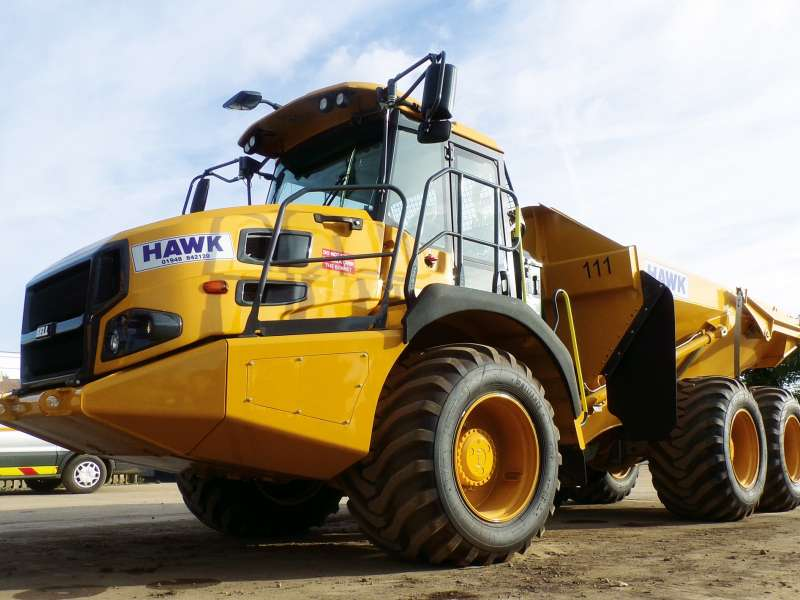 Bell B20E articulated dumptruck
