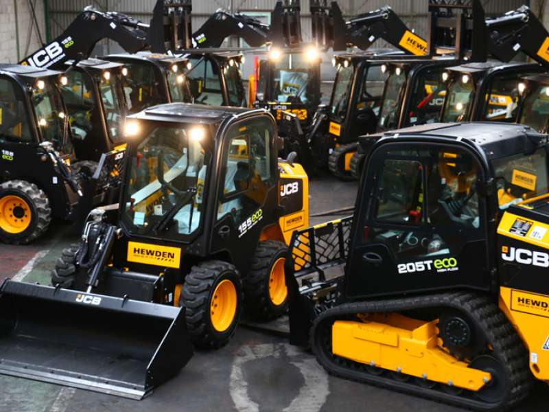 JCB compact equipment