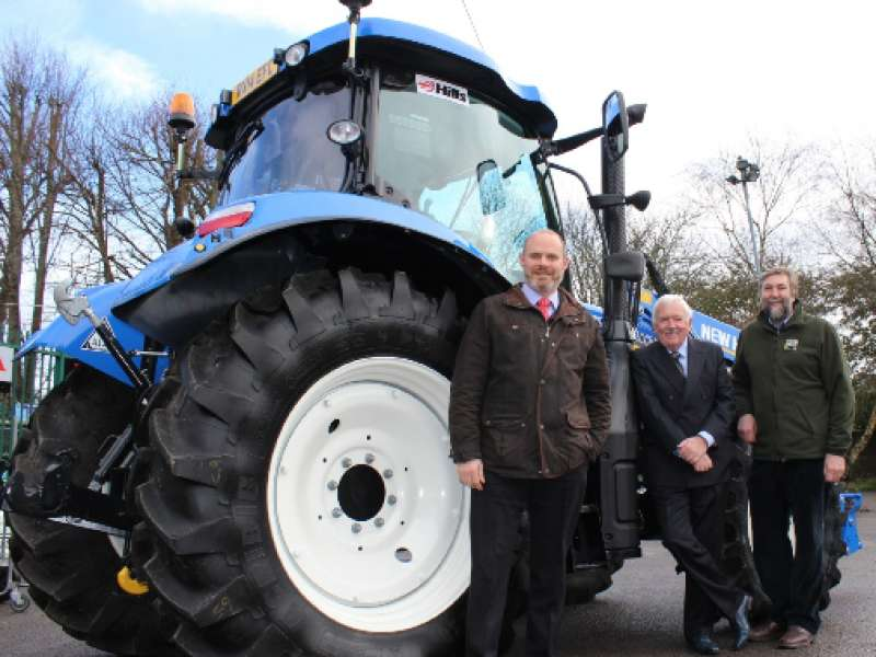 Hills Group fund new tractor for Wiltshire Wildlife Trust