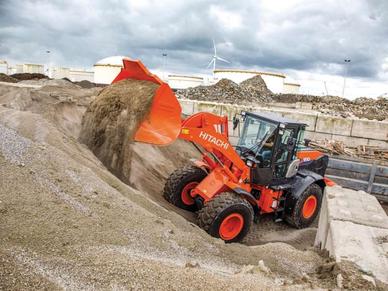 Hitachi ZW150-6 wheel loader