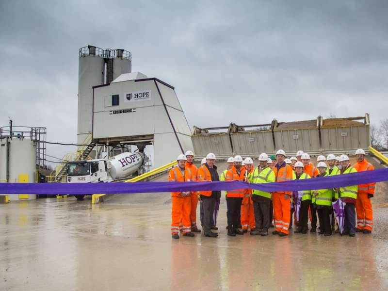 Theale depot opening