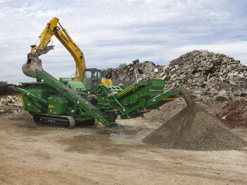 McCloskey I34R compact impact crusher