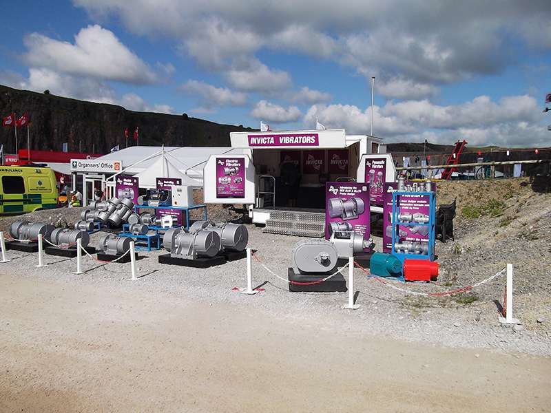 Invicta's stand at Hillhead 2014