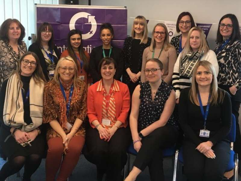 International Women's Day session group