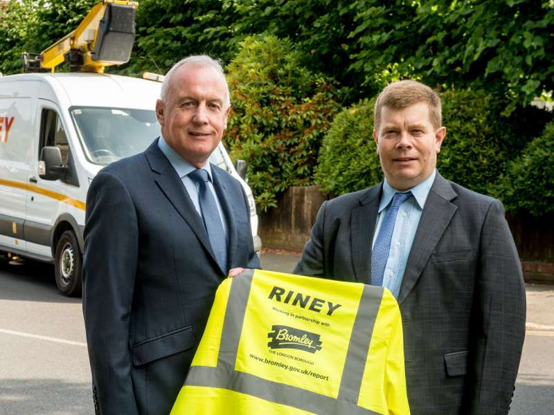 Riney secure £70m+ Bromley highways contracts