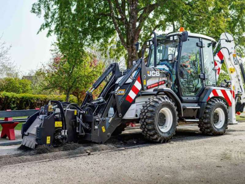 JCB 3CX Compact Highways Master backhoe loader