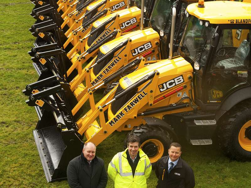 JCB 3CX Sitemaster backhoe loaders
