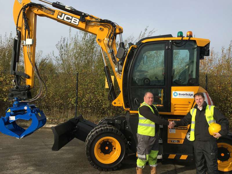 RiverRidge opt for new JCB Hydradig