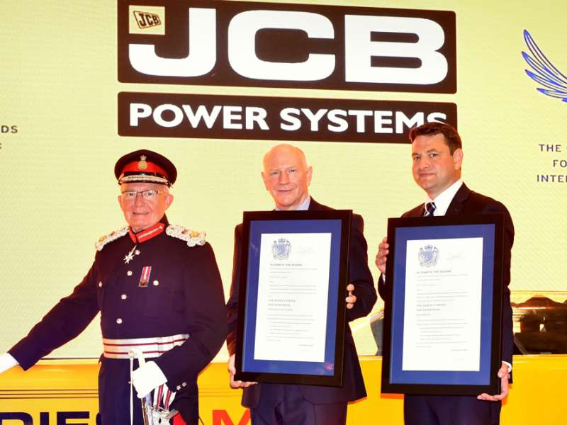 Double award for JCB Power Systems