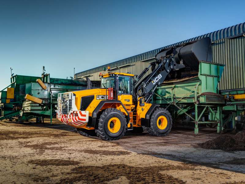 JCB Stage V Wastemaster loading shovel