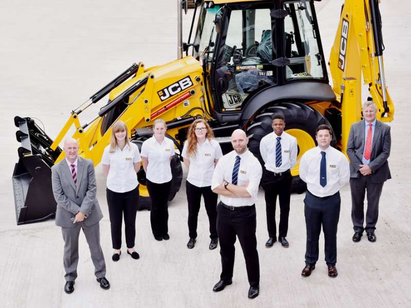 JCB 'Young Talent' programme