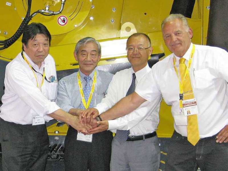 Keestrack sign deal with JCE