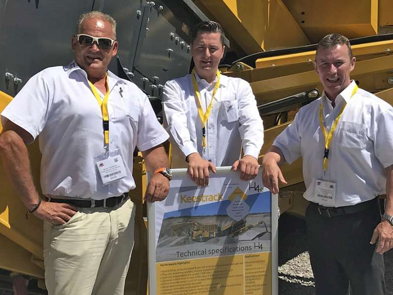 Keestrack team at Hillhead 2018
