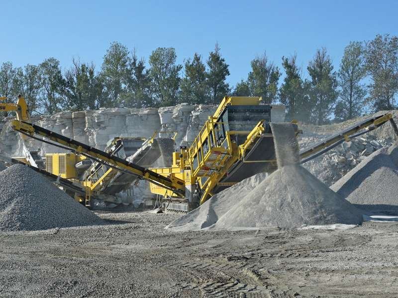 Keestrack equipment