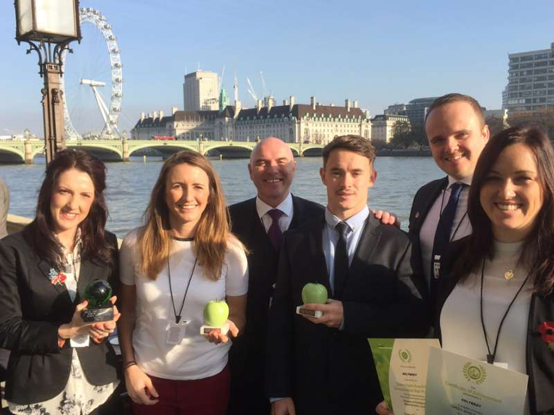 Keltbray win Green Apple Awards