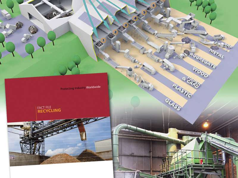 Kingfisher Industrial recycling brochure