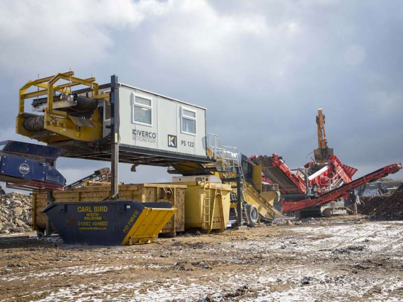 Kiverco recycling equipment