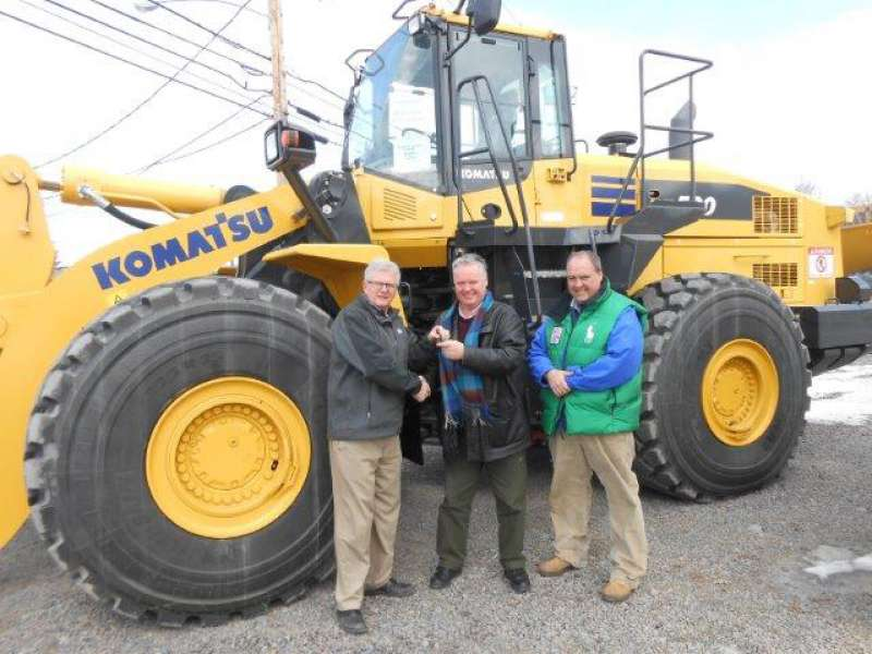 Atlantic Coal take delivery of Komatsu machines