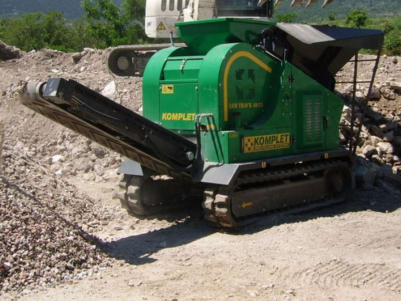 Komplet recycling equipment