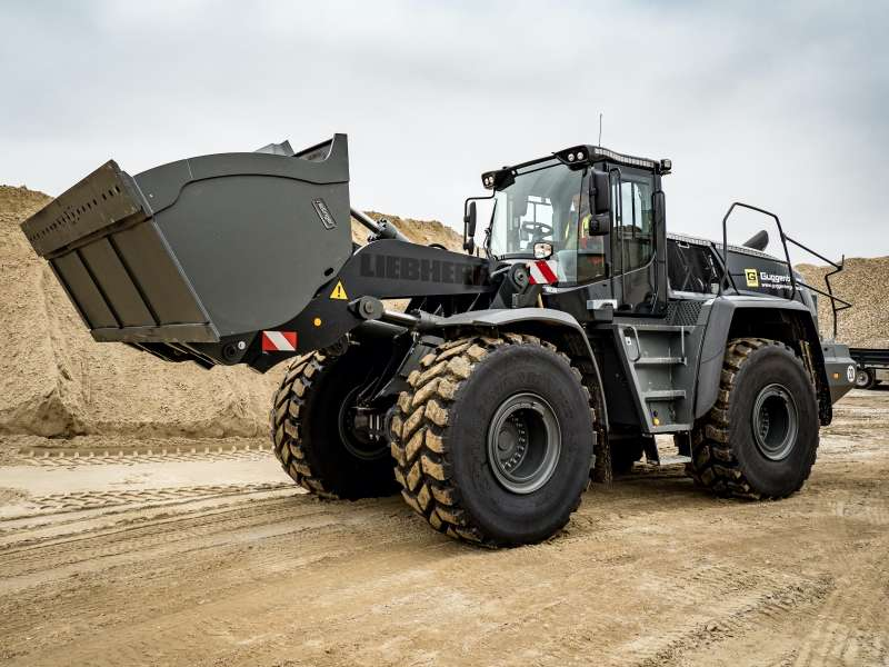 Liebherr L566 XPower wheel loader