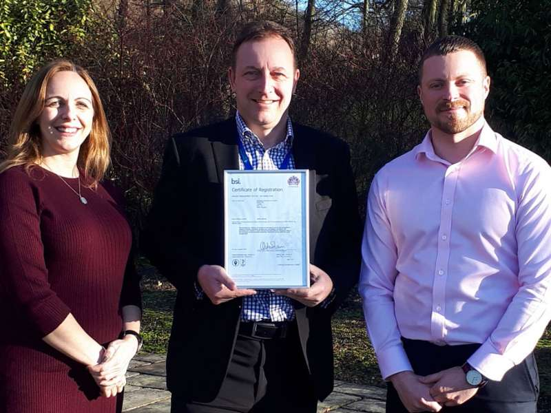 Lafarge Cement's ISO50001 certificate