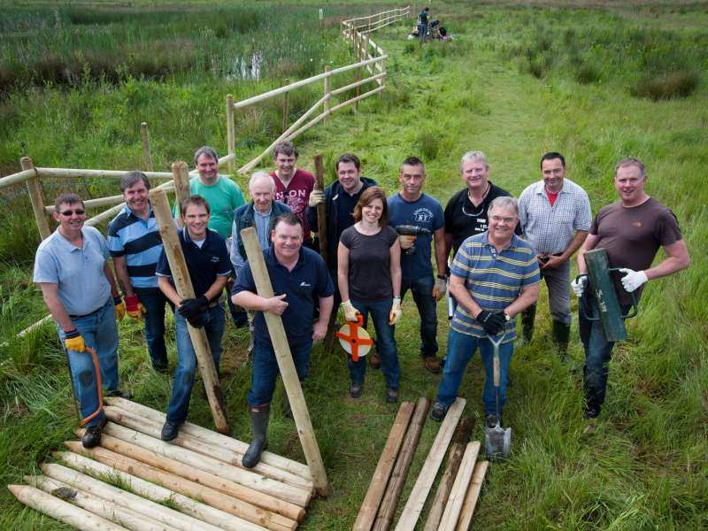 CEMEX lend a hand at Middleton Lakes