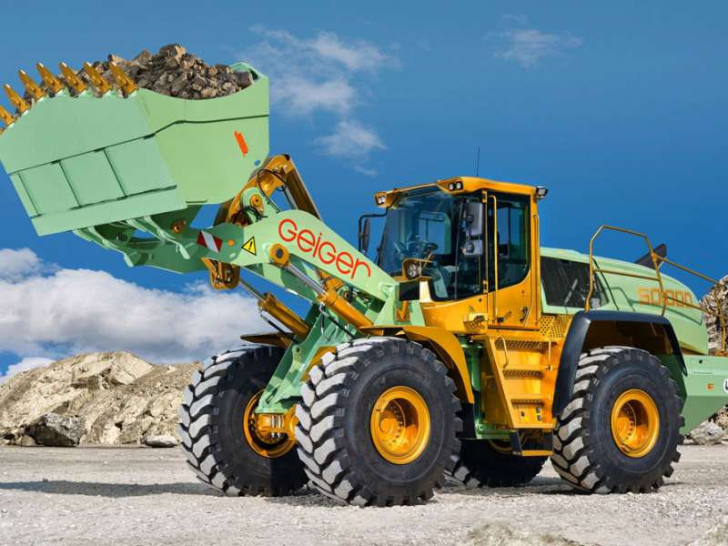 50,000th Liebherr wheel loader
