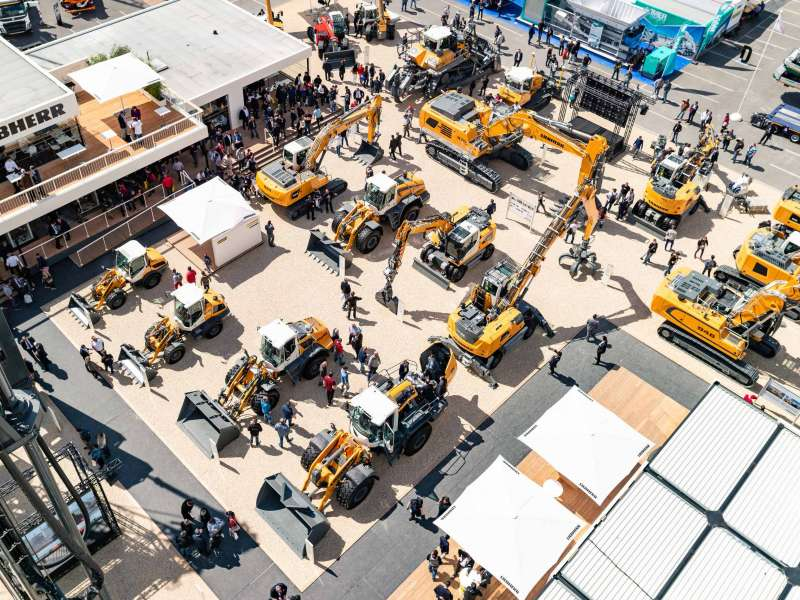 Liebherr earthmoving innovations