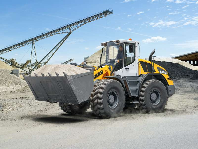 Liebherr L 526 wheel loader