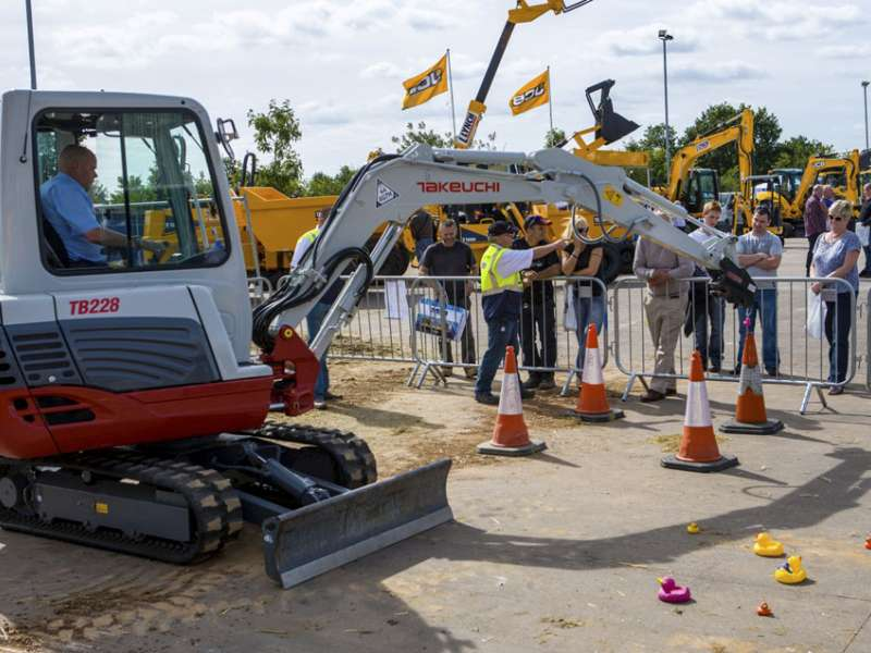 Lynch Plant Hire's open day