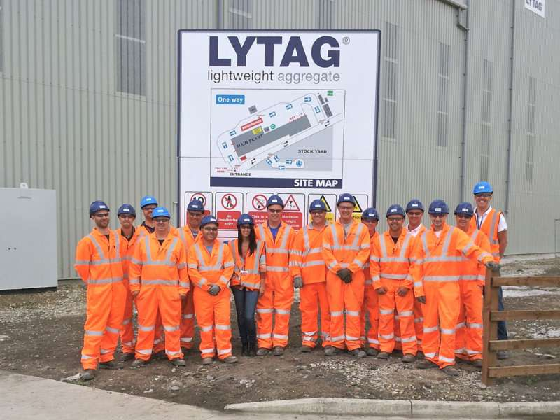 Lytag's new LWA plant in North Yorkshire