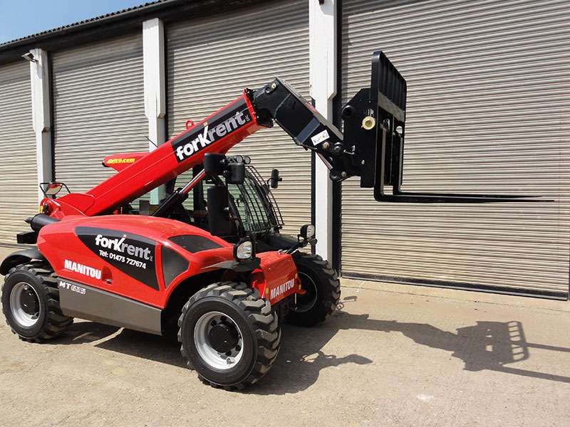 Manitou MT625 compact telehandler