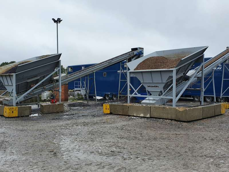 Haith mobile aggregate bagging system