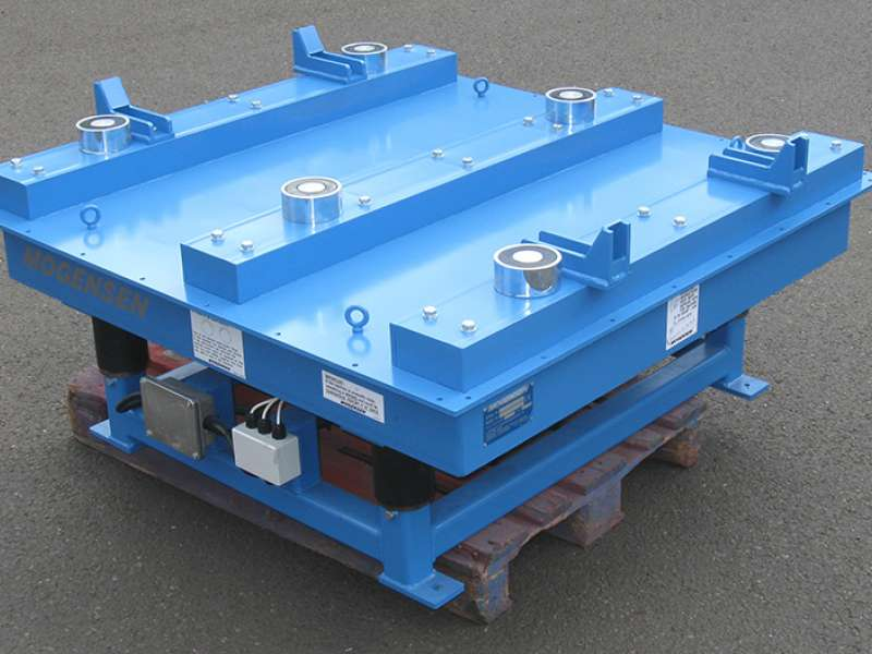 Mogensen vibratory table