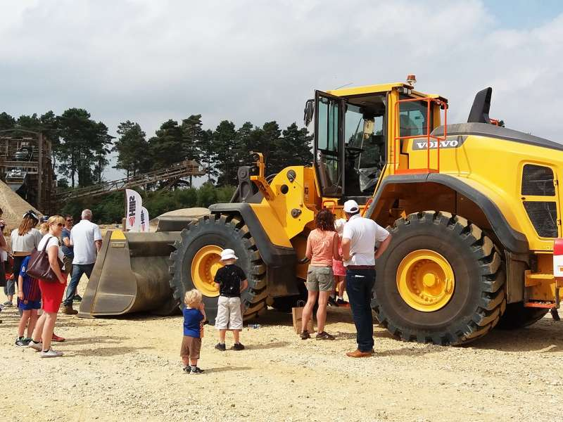 Mortimer Quarry open day
