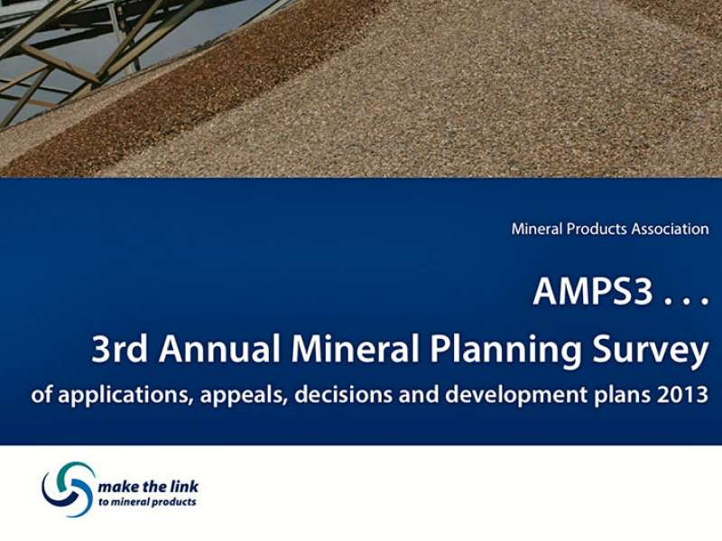 Annual Mineral Planning Survey Report