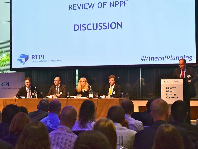 MPA/RTPI Mineral Planning Conference