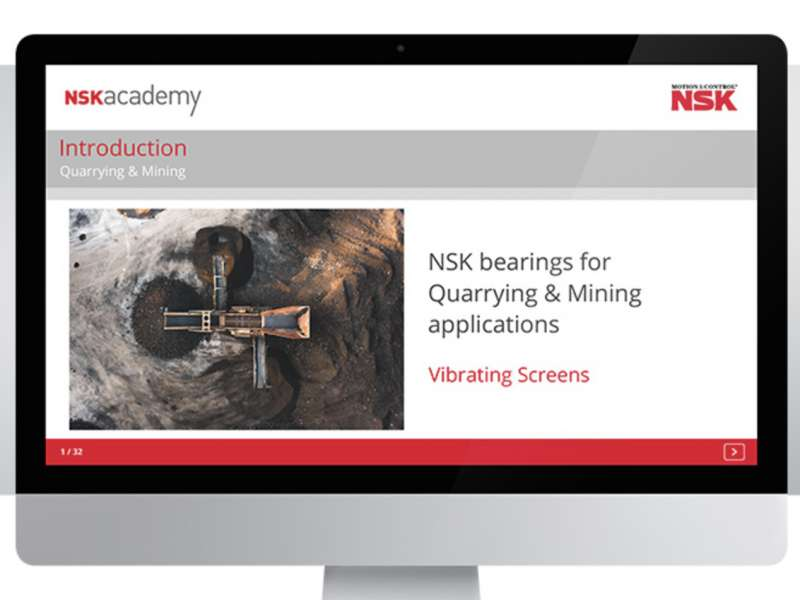 NSK academy online training