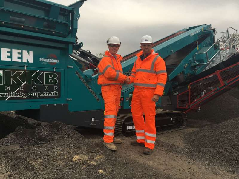 Powerscreen Chieftain 1400 screen
