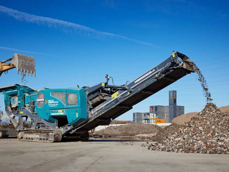 Powerscreen Premier R400X jaw crusher