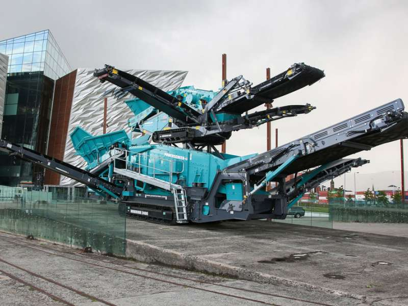 Powerscreen jaw crushers