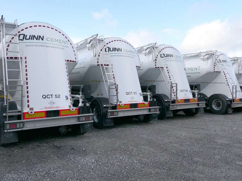 Quinn cement tankers