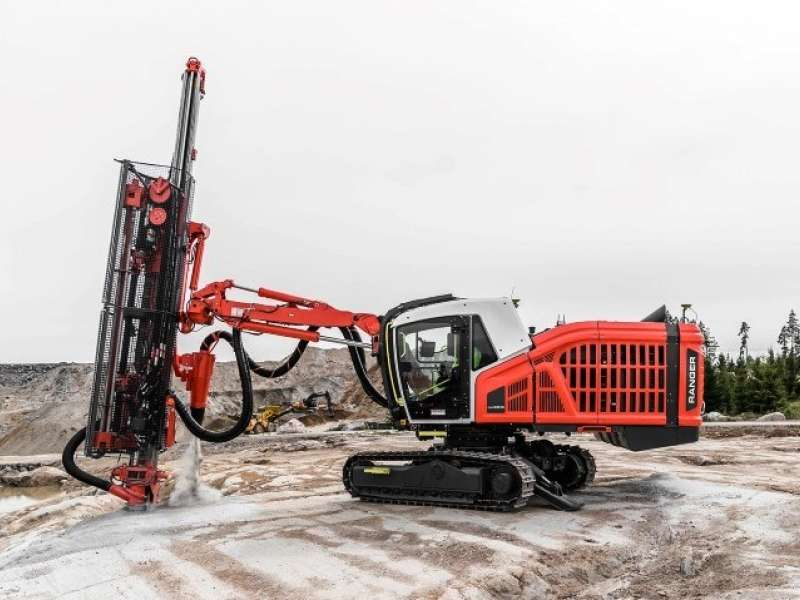 Sandvik Ranger DX900i with RockPulse