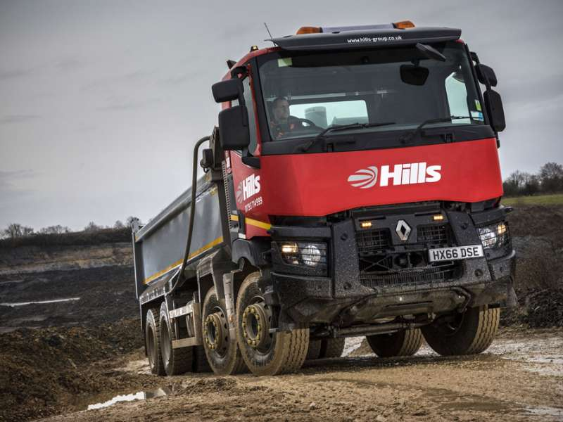Renault Trucks C430 8x4 tipper