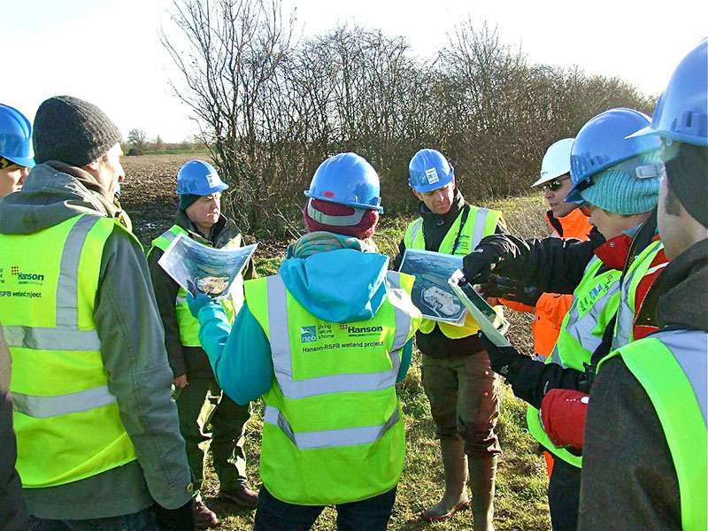 RESTORE visit quarries in Cambridgeshire & Bedfordshire