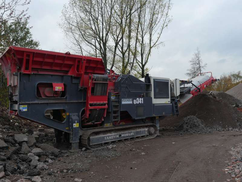 Sandvik QJ341 jaw crusher