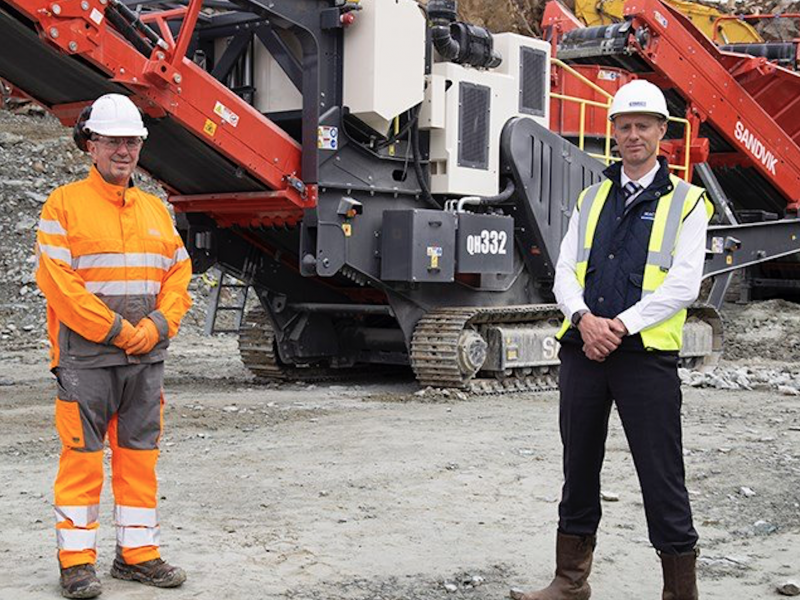 Sandvik and MacLeod Construction celebrate 20 year partnership